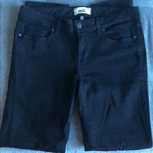 Black Paige Skyline Skinny Jeans